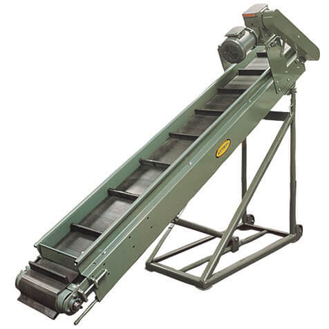 Can be used as a portable or permanent parts conveyor.